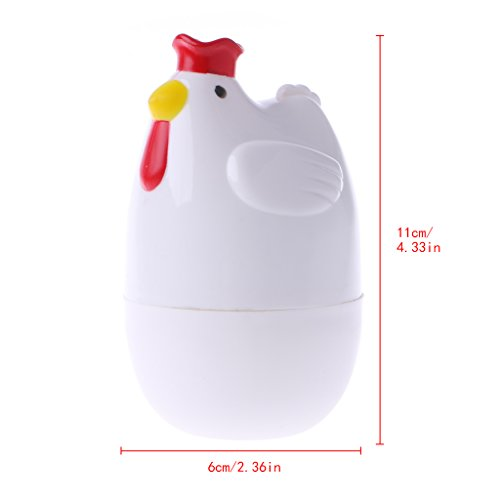 Jiamins Startseite Huhn Geformte Mikrowelle Ein Eierkocher Cooker Kitchen Cooking Appliance