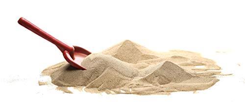 Euroquarz 25 kg Sandkastensand Spielsand Dekosand Quarzsand Buddelkastensand 0,1 bis 4,0 mm