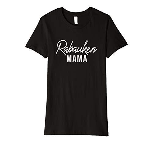 Damen Rabaukenmama Mama T-Shirt Familien Partnerlook Mutter Shirt