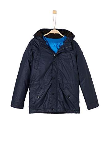 s.Oliver Jungen 62.809.52.7084 Jacke, Blau (Dark Blue 5874), 176 (Herstellergröße: XL)