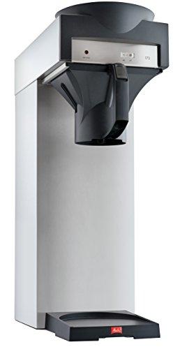 Melitta Filterkaffeemaschine für Isolierkannen, 170 MT, Edelstahl/Schwarz