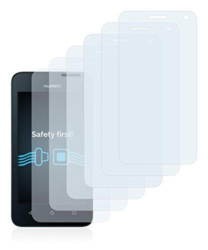 Savvies 6X Schutzfolie kompatibel mit Huawei Y360 Displayschutz-Folie Ultra-transparent - 2
