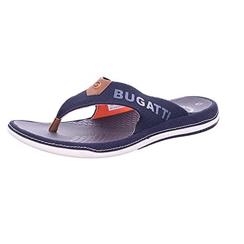 bugatti Shoes Branson Größe 47 EU Blau (blau Kombi)