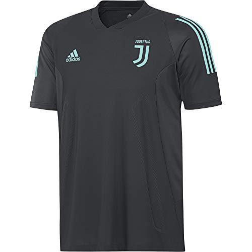 adidas Juve Eu Tr JSY Trainingsshirt Juventus 2017-2018 Herren XXXL dunkelgrau/mintgrün