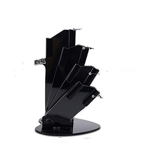 YUWEX Messerblock Lüfterförmig Keramik Messerblock ohne Messer für 3