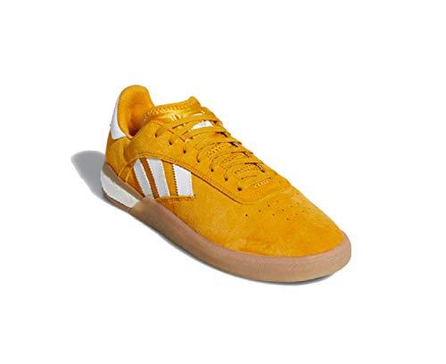 adidas Originals Mens 3ST.004 Skateboarding Shoes Yellow/Cloud White/Gum EE7669