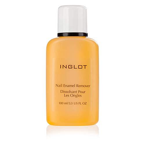 Inglot Nagellackentferner die Nagellack schnell und wirksam entfernt mit Ringelblumenextrakt, Vitamin A und E, 100 ml