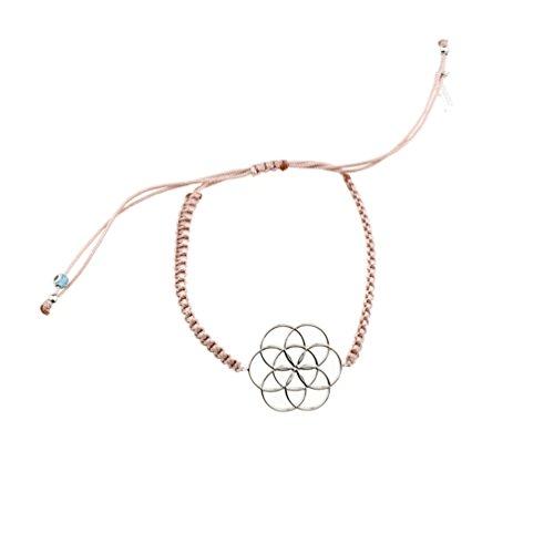 Kurshuni Armband Secret of Life Silber Powder Pink