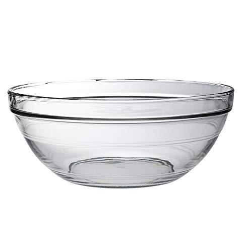 HHXWU Vaisselle Bol à Riz Grands Bols à Oeufs et lavabos Bols à Laver Pots à Soupe Bols à Salade en Verre, 1590ML