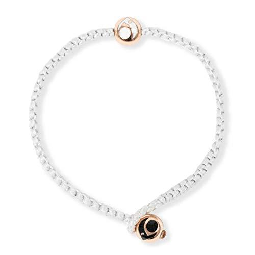 Lokai Metals Collection Single Wrap Bracelet, Dove/Rose Gold, Large