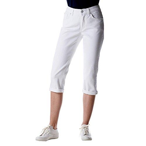 Type: 81 Form 575 Cici Turn Up Dames 3/4-Jeans in 5-pocket-vorm Stretch