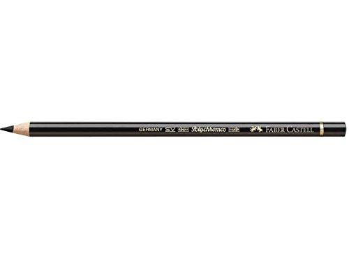 Faber-Castell–Juego de 5Lápices de color Polychromos Mina 3,8mm óleo negro