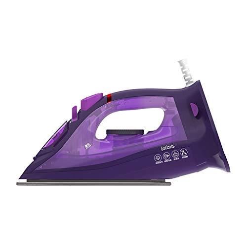 Metdek Plancha de vapor eléctrica inalámbrica multifunción ajustable para planchar de forma inalámbrica de ropa en la calle