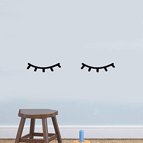 Wandtattoo Kinderzimmer Schöne Wimpern Wimpern Mädchen Kinder Zilien