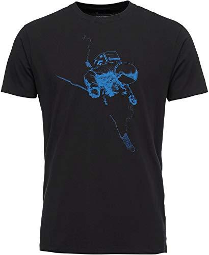 Black Diamond Faceshot Short Sleeve T-Shirt - Men's, Black-B