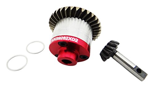 Hot Racing VXS9282X02 Steel Helical Spiral Gear Set w/ Aluminum Cover Plate - Tr