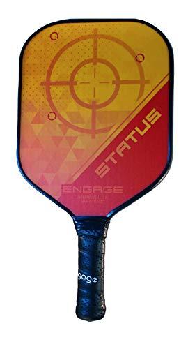 Engage Omega Status Pickleball Paddle (Fierce Yellow)