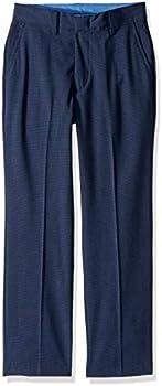 Izod Boys' Bi-Stretch Flat Front Dress Pant
