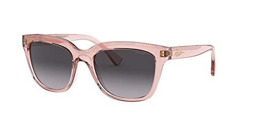 Ralph Lauren Damen 0ra5261 Sonnenbrille, Rosa Transparente/Gradiente Gris, 53
