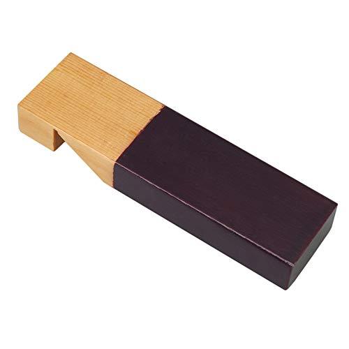 ウッドホイッスル パーティーノイズメーカー 口笛 子供向 12x3.3x1.8cm 木製 ウッドカラー