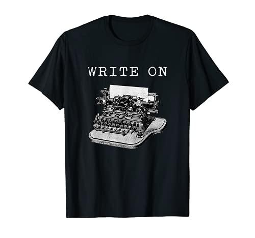 Write On Vintage Typewriter T-shirt