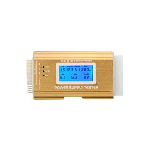 MagiDeal Fuente de Alimentación Probador De Digital LCD PC 20/24 Pines Para BTX ITX ATX TFX