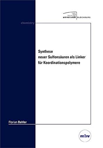 Synthese neuer Sulfonsäuren als Linker für Koordinationspolymere