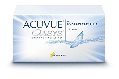 Acuvue Oasys 2-Wochenlinsen weich, 24 Stück / BC 8.8 mm / DIA 14 / -1.25 Dioptrien