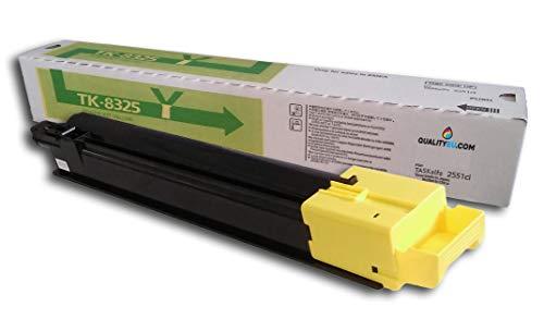 Toner Kyocera TK-8325 compatibile Amarillo. toner compatibile con stampante Kyocera TASKalfa 2551ci. Alta qualità garantita al miglior prezzo garantito!