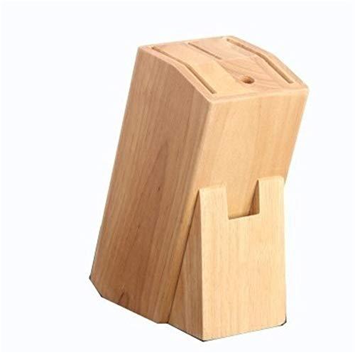 Zhengowen Portacuchillos de Cocina Cocina for Guardar Objetos de bambú Cuchillo Organizador Bloques Holder Bloque de Cuchillos (Color : Natural, Size : One Size)