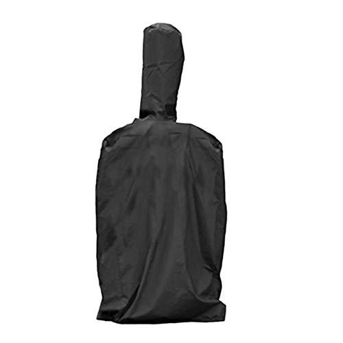 Abdeckung für Pizzaofen wasserdichter Regenschutz Schutzhülle Außenofen Pizza Abdeckhaube Schwarz 210T Oxford Grillofen Abdeckung