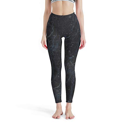 Charzee yogabstract damesbroek met patroon, elastische compressiewerking, capri, leggings, fitness, sportbroek, nieuw in 2019 kunst