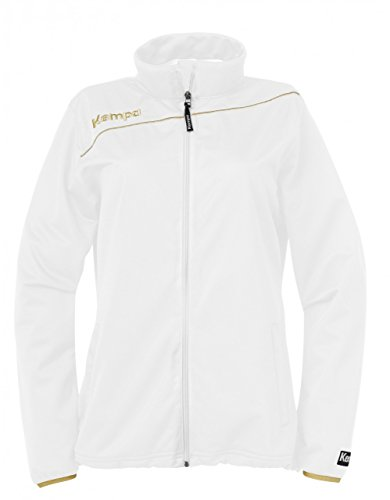 Kempa Damen Jacke Gold Classic, Weiß, L