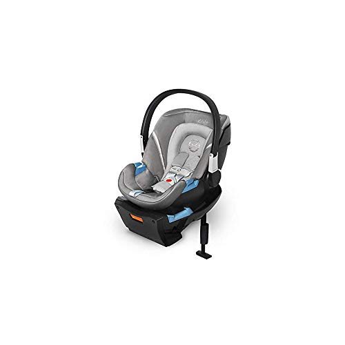 CYBEX Aton 2 with SensorSafe, Convertible Car Seat, Ultra-Lightweight Infant Seat, Real-Time Mobile App Safety Alerts, Removable Newborn Insert, Side-Impact Protection, Manhattan Grey