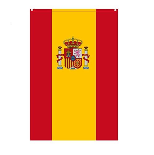 Durabol Bandera de España con Escudo Vertical 150X90 CM Flag