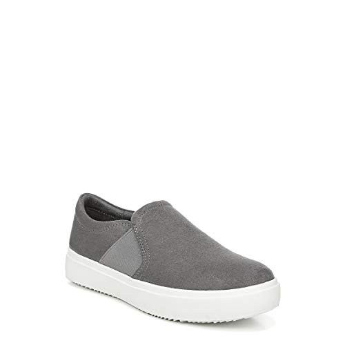 Dr. Scholl's Shoes Women's Wander UP Sneaker, Dark Shadow Microfiber, 7.5 M US