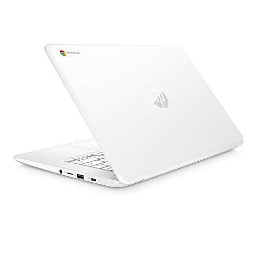 HP Premium High Performance 14 inch FHD IPS Multitouch Chromebook, Intel Celeron N3350 up to 2.4GHz, 4GB RAM, 32GB eMMC, 802.11ac WiFi, Webcam, Bluetooth, Chrome OS (Renewed)