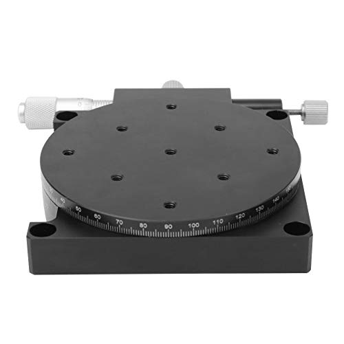 Rs90-l Trimmstation Manuelle Verstellbühne Lineare Plattformverstellung Schlittentisch Durchmesser φ90mm Präzisions-Feinabstimmschlittentisch
