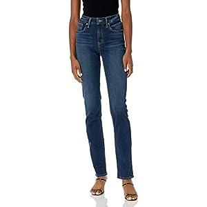 Women's Avery Curvy Fit High Rise Straight Leg Jeans