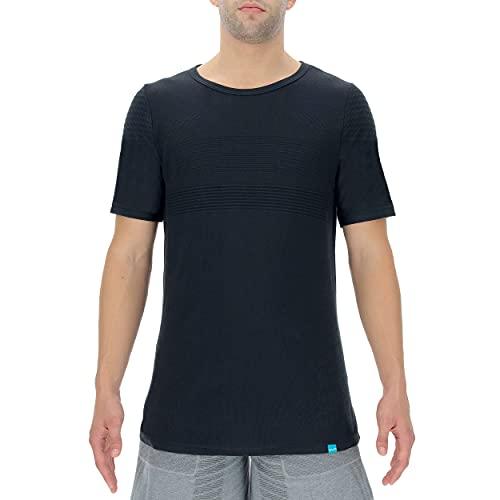 UYN Man Natural Training OW Shirt SH_SL Chaqueta calentadora, Pizarra, XX-Large para Hombre