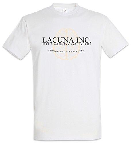 Urban Backwoods Lacuna INC. Uomo T-Shirt Bianco Taglia 2XL