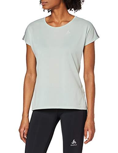Odlo BL Top Crew Neck S/S Millennium Linencool T-Shirt à col Rond pour Femme XXL Bleu Clair