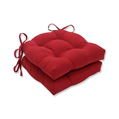 Pillow Perfect Outdoor/Indoor Pompeii Chair Pads, 15.5' x...