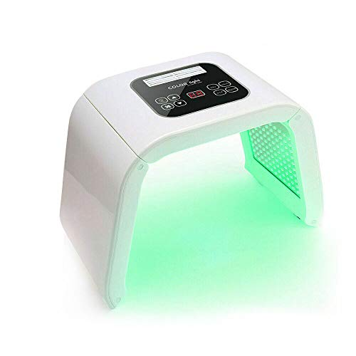 LED Face Mask, 7 Color PDT LED Photon Lamp Facial Body Therapy Touch Screen Face Whitening Skin Care Rejuvenation Beauty Equipment
