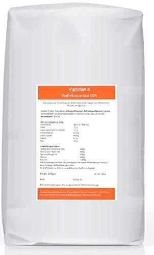 Waffelfix 10 Kg Waffelkonzentrat für Waffeln am Stiel, von Yammie, extra fluffig, per Hand anrührbar