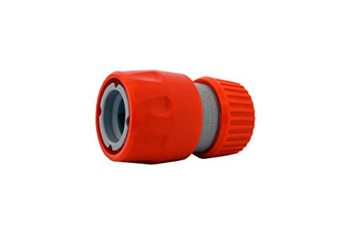 Siroflex Raccordo Tubo acqua Giardino 4450/S in Plastica, connettore con attacco rapido per tubo irrigazione, set giardino, irrigatore giardino, adattatore universale rubinetto giardino e giardinaggio