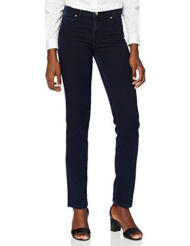Wrangler Damen Jeans Straight Blueblack, Blau (Blueblack 51L), W31/L34