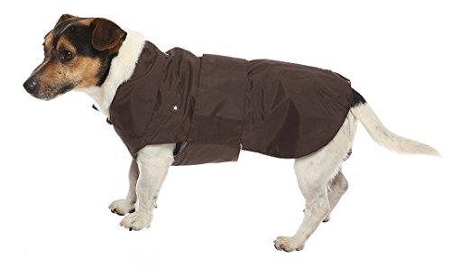 CROCI, MONTREAL, Cappotto per cani, Mantello invernale, Giacca impermeabile, Taglia 40 cm, Marrone