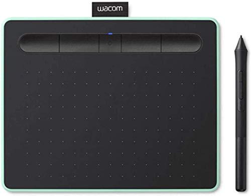 Wacom Intuos M Tavoletta Grafica Bluetooth Pistacchio con Penna per Dipingere, Disegnare ed Editare Foto con 3 Software Creativi Inclusi da Scaricare - Adatta per l'Home Office e l'E-Learning