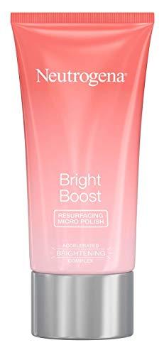 Neutrogena Bright Boost Face Micro Polish 2.6 Ounce (75ml) (Pack of 2)